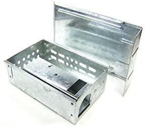 Iapyx - Ratonera de metal, permite atrapar varios ratones a la vez, modelos con o sin ventana o ángulo
