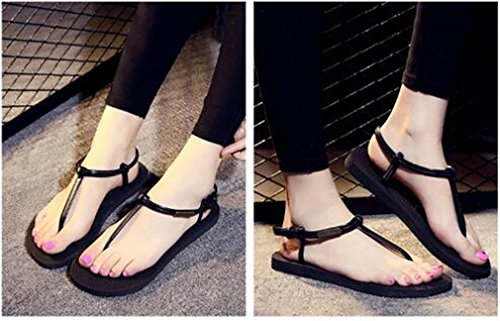 Summens Sandales Noir Flip Flops DIY Slipper Femme Tongs Talons Plage wwdqpYzgr
