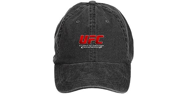 ZHENGXING UFC Jose Aldo Hombres del algodón gorra de béisbol lavar Velcro ajustable sombreros tapas: Amazon.es: Ropa y accesorios