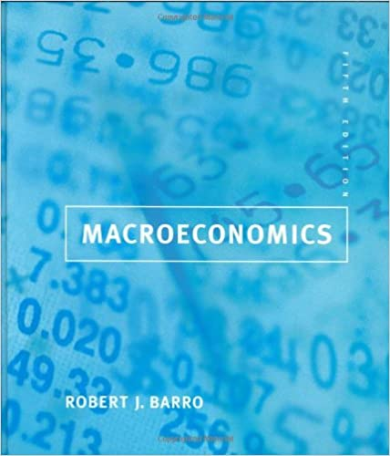 Macroeconomics 5th Edition 9780262024365 Economics Books