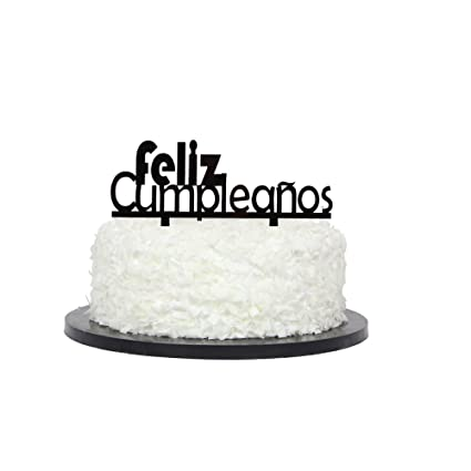 Feliz Cumpleanos Cake Topper
