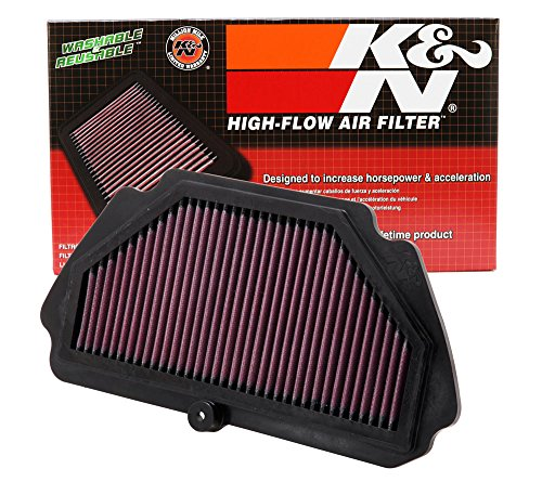 Ninja Air Box (K&N KA-6009 Kawasaki High Performance Replacement Air Filter)