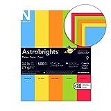 Wausau Astrobrights Heavy Duty Paper, 24 lb, 8.5 x