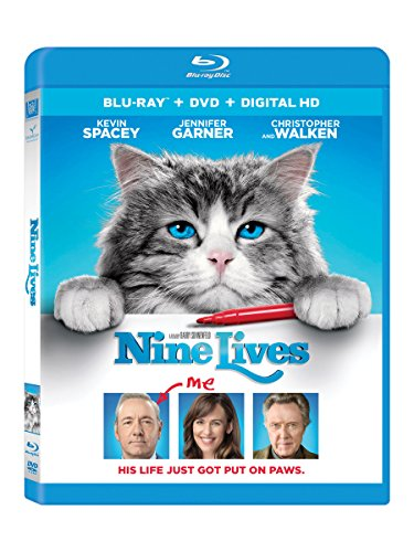 Nine Lives [Blu-ray] (Kevin Spacey See No Evil Hear No Evil)