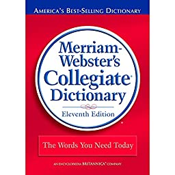 MERRIAM - WEBSTER INC. MERRIAM WEBSTERS COLLEGIATE (Set of 3)