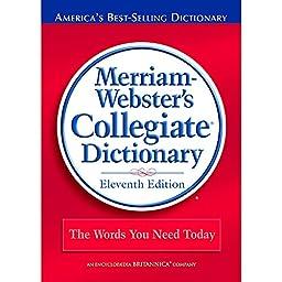 MERRIAM - WEBSTER INC. MERRIAM WEBSTERS COLLEGIATE (Set of 3)
