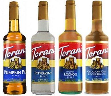 Torani Favorite Pumpkin Peppermint Chocolate product image