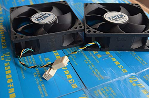 8025 cm high Power CPU mainboard Chassis Computer Cooling Fan REFIT AVC 12 v 8 cm