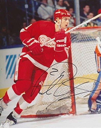 Image Unavailable. Image not available for. Color  PAUL YSEBART Signed  DETROIT RED WINGS ... bee9c06a7