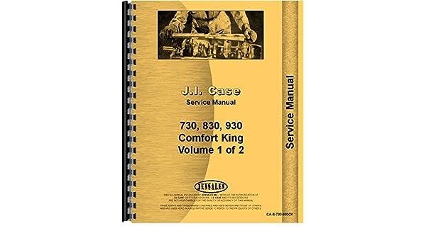 case 730 830930 series tractor service manual (ca s 730 930ck) case  case 730 830930 series tractor service manual (ca s 730 930ck) case 0761873388854 amazon com books