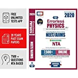 ERRORLESS PHYSICS NEET/AIIMS - 2020 by Universal Books (Set of 2 Volume), NTA