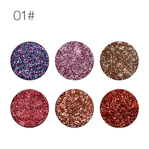 UCANBE Shimmer Glitter Eye Shadow Powder Palette Matte Eyeshadow Cosmetic Makeup By DMZing (A)