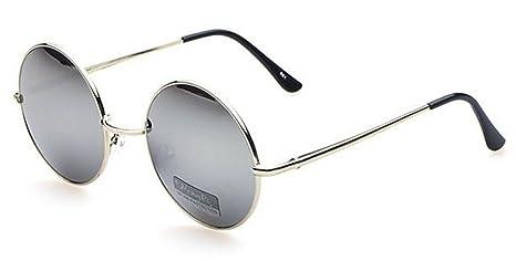 estilo máximo rebajas(mk) materiales de alta calidad Gafas de sol Chic-Net Unisex Ronda gafas hippie John Lennon tintados 400UV  largo embarcadero