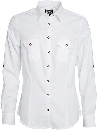 James and Nicholson - Camisa Lisa Tradicional de Botones para Mujer señora (XXL) (Blanco): Amazon.es: Ropa y accesorios