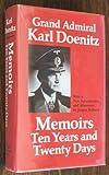 Memoirs, Karl Doenitz, 0870217801