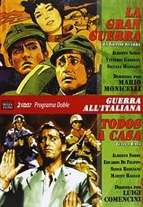 Programa Doble  Guerra A La Italiana (La Gran Guerra Y Todos A Casa) [DVD]