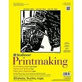 "Strathmore Printmaking Paper Pad 11""X14""-30 Sheets"