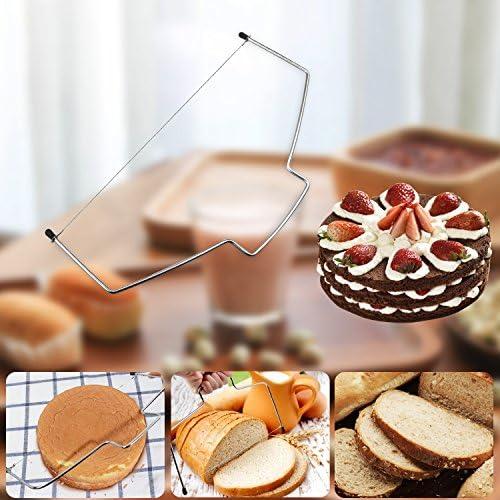 Plateau à Gâteaux, WisFox Kit de Pâtisserie Plateau Tournant de Gâteau 39 Pcs Gâteaux Tournant, Poches et Douilles, Seringue Patisserie, Brosse, Spatule à Glaçage pour Cuisine Décoration de Gâteaux