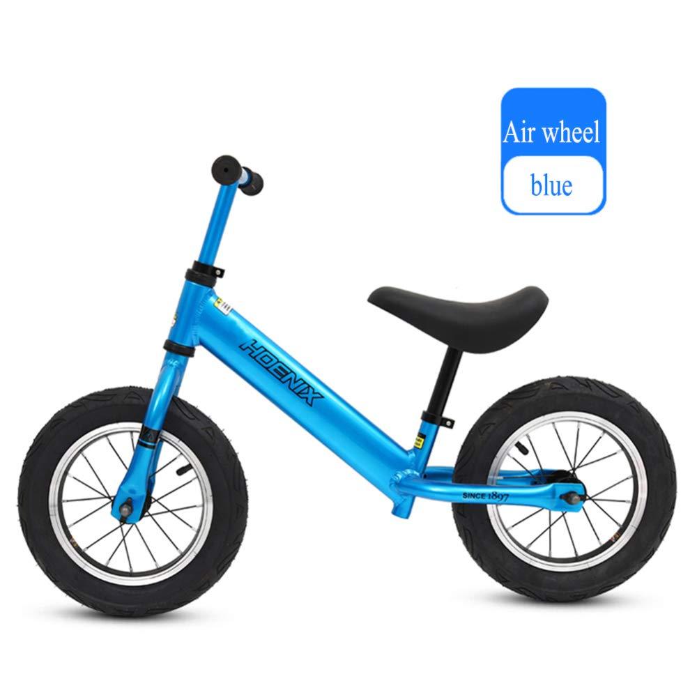 shuhong Kinder Laufrad Lauflernrad Kinderrad Luftrad 110,2 Lbs Kapazität Sitz Und Lenker Verstellbar Alter 2 Bis 6 Jahre,A B