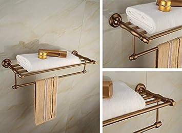 Antik Badezimmer Zubehör Handtuch Rack Platz Aluminium Handtuch Rack ...