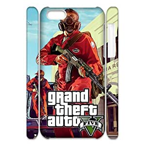 AKERCY GTA 5 V Phone 3D Case For Iphone 5C [Pattern-4]