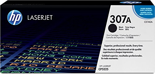 HP 307A (CE740A) Black Original LaserJet Toner Cartridge