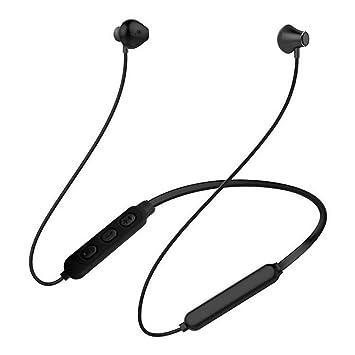 Babysbreath17 HZY-M14 Bluetooth Cuello Colgar Auriculares inalámbricos magnético Ligero Ruido Auriculares de Cancelación de Deportes Auriculares Sweatproof ...