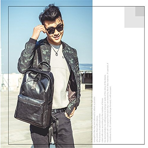 Queta Trend Sac Vent Angleterre à à décontracté Dos pour Mode Homme Dos coréen Sac Wild collège rqr8f4Aw