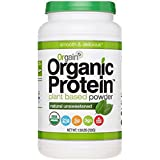 Orgain Organic Plant Based Protein Powder, Unsweetened, 1.59 Lb