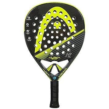 Head Alpha Pro CB - Pala de pádel, Color Gris/Amarillo / Negro: Amazon.es: Deportes y aire libre