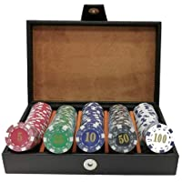 Artik Fichero Poker de Lujo Curpiel Heroland 200 Fichas