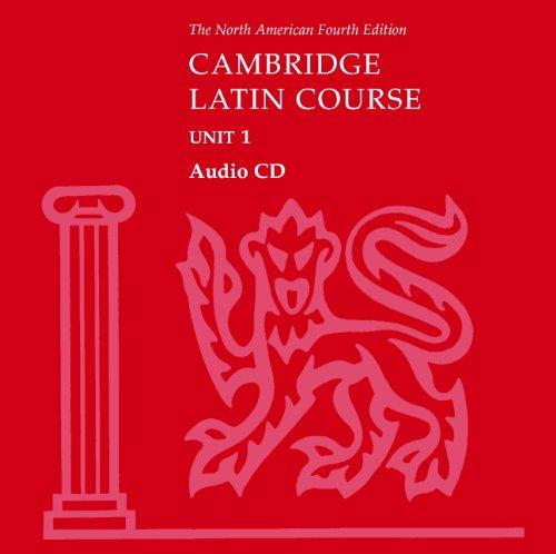 North American Cambridge Latin Course Unit 1 Audio CD