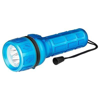Poly Pool pp3151Lampe torche LED Portable luminosité 18lm IP44avec pratique poignée antidérapante et lanière de poignet