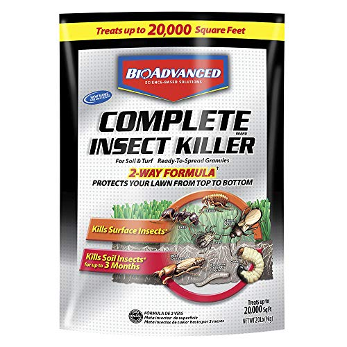 Care Insects Lawn (Bayer Advanced 700289A Complete Insect Killer for Soil and Turf Granules)