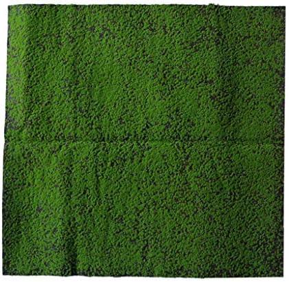 人工芝 ガーデン バルコニー 屋上 デコレーション 100×100センチ 全6色 - コーヒー