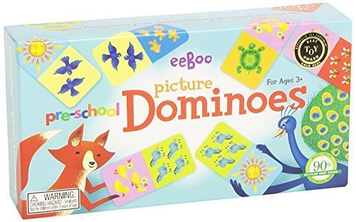 eeBoo Pre-School Picture Dominoes by eeBoo by eeBoo