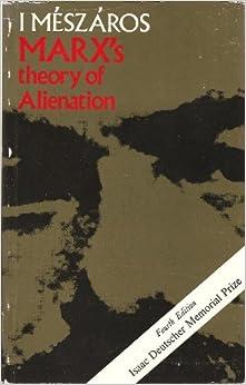 Book Marx's Theory of Alienation by Istvan Meszaros (1975-02-27)