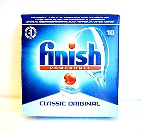 Finish Powerball 10 x pastillas para lavavajillas Classic Original ...