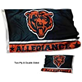 Cheap WinCraft Chicago Bears Double Sided Allegiance Flag