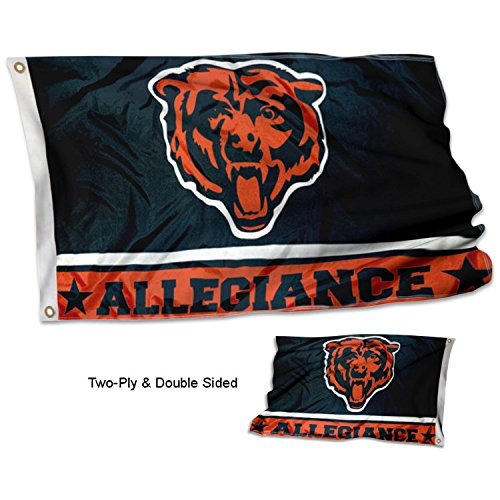 (WinCraft Chicago Bears Double Sided Allegiance)