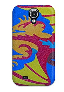 New Style Galaxy S4 Case Cover - Slim Fit Tpu Protector Shock Absorbent Case (sand Art) 2203865K61119613