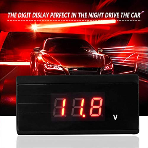 Zinniaya Digital LCD Display Car Windshield Temperature Meter Suction Vehicle Thermometer Automobile Rear View Mirror Thermometer