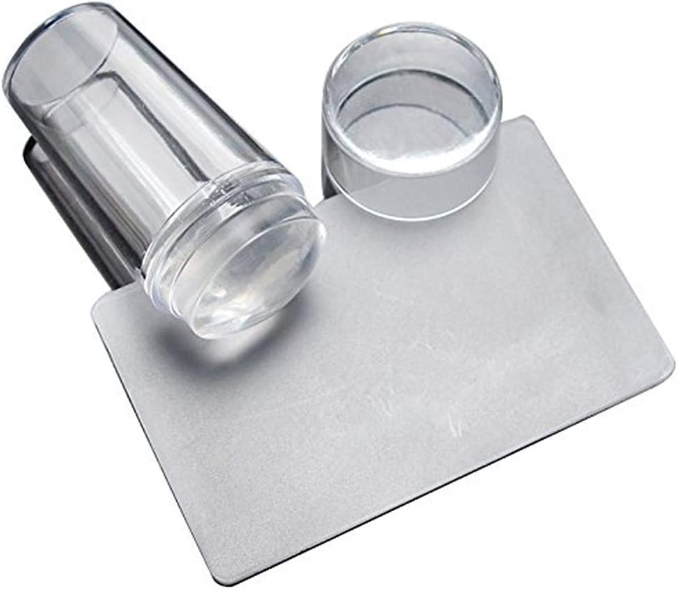 cosanter Stamper con rascador Stamper Plates DIY uñas nail art Nail Art Stamping Nail Art Stamping