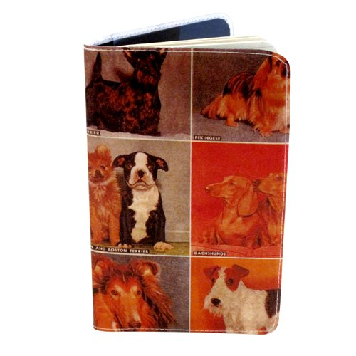 Vintage Dog Portraits Journal (Diary, Notebook) w/Moleskine Cahier Pocket ()
