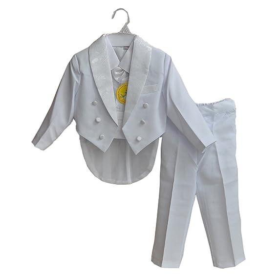 fc9cd14053f costume bébé cérémonie Baptême enfant pour mariage ou soirée coupe standard 5  pièces  Amazon.fr  Vêtements et accessoires