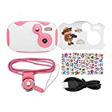 Kids Mini Camera,Mini Digital Video Camera for Kids with 1.44inch HD Display.(Pink)