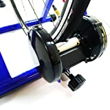 Akonza-Indoor-Cycling-Bicycle-Magnetic-Trainer-W-Seven-Levels-Of-Resistance-Exercise-Stand-Blue