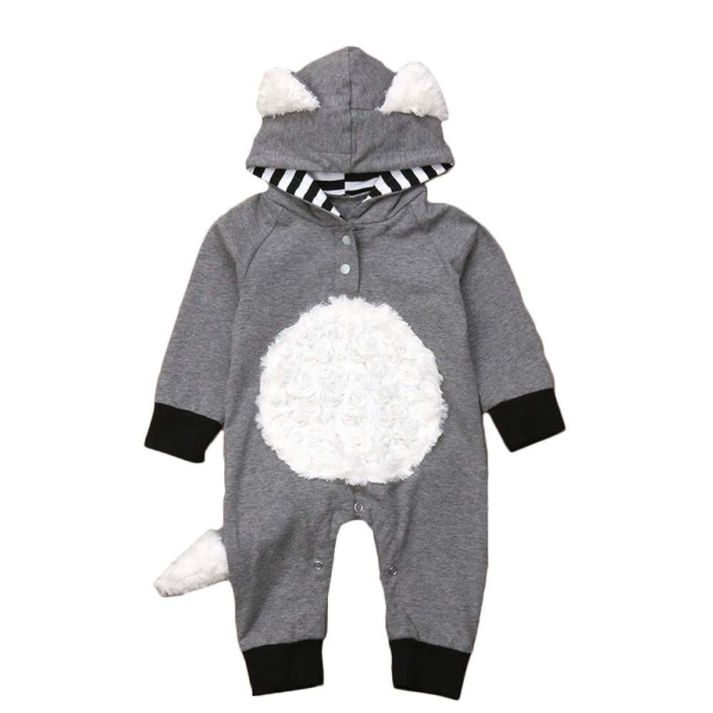 Fox Baby Rompers Ropa De Bebé Recién Nacido Traje De Manga ...