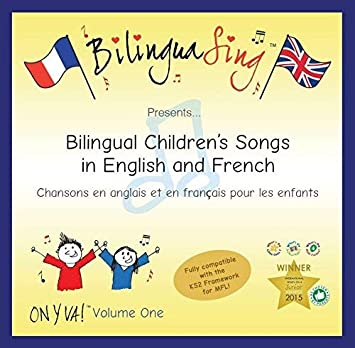 No 1 French Songs CD for Kids | LEARN Numbers Dates Animals and Much More |  Award Winning 16 Song BilinguaSing On Y Va Vol 1 | Sing and Learn French