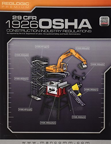OSHA Construction Regulations Book (January 2012 Edition)